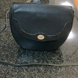 Gorgeous vintage caviar leather Christian Dior